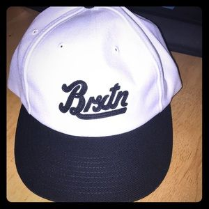 New Brixton Houston snap back hat new